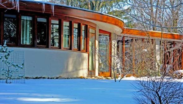 47 casas inspiradas en Frank Lloyd Wright en una exhibición
