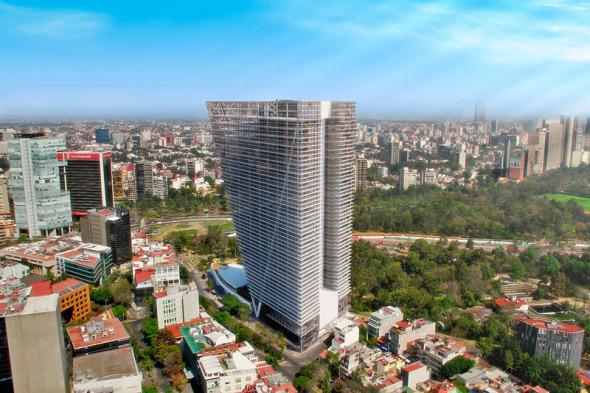 Torre Virreyes quedará lista en este año.