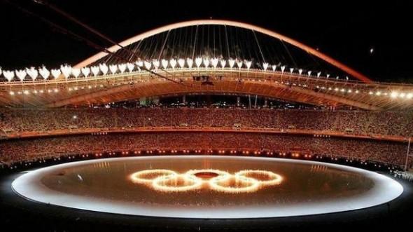 Instalaciones de los Juegos Olímpicos del 2004 abandonadas.