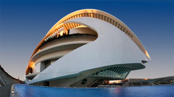 Santiago Calatrava es un arquitecto genial pero carísimo