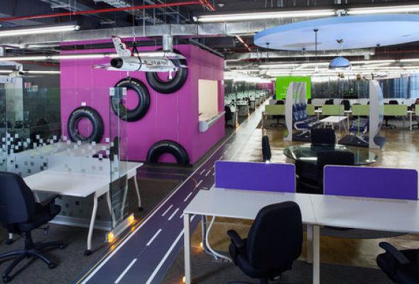 Conoce el despacho que creó las oficinas de Google en México