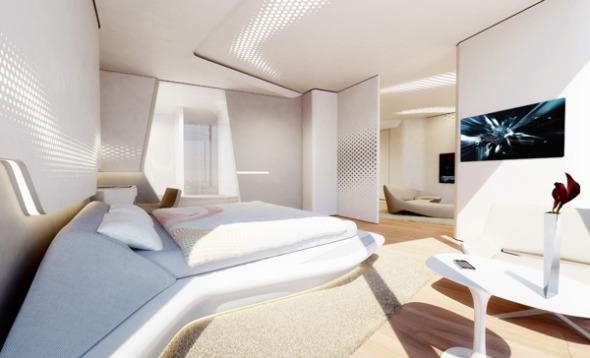 Hotel diseñado por Zaha Hadid en Dubái