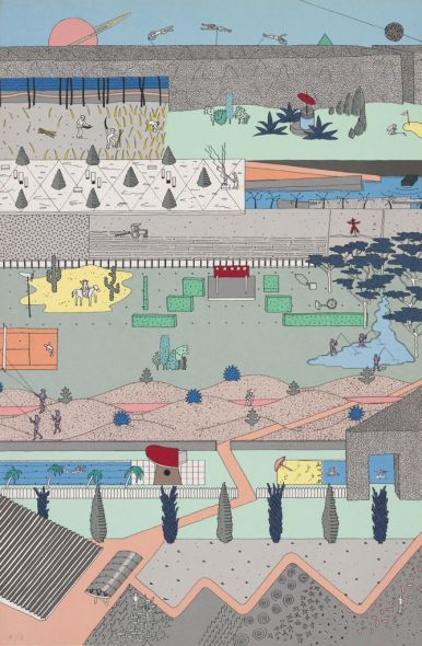 Los curiosos dibujos formativos de Frank Gehry, Zaha Hadid y otros arquitectos de renombre