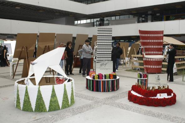 Sillas de jardín inspiradas en la cultura popular mexicana