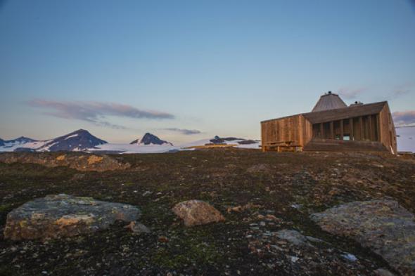 El sitio en la montaña