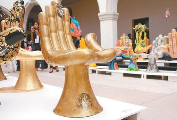 Exhibición de la icónica silla de Friedeberg