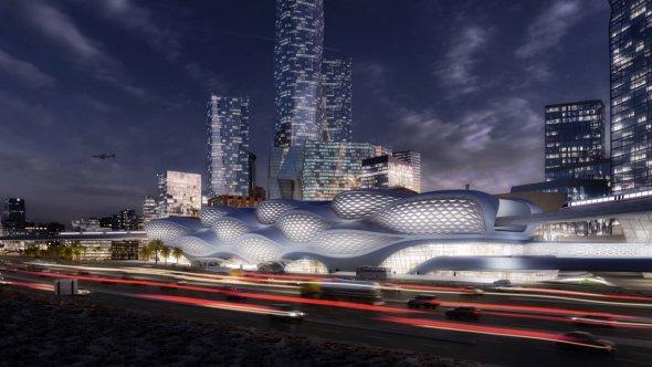 Metro en Arabia Saudita de Zaha Hadid