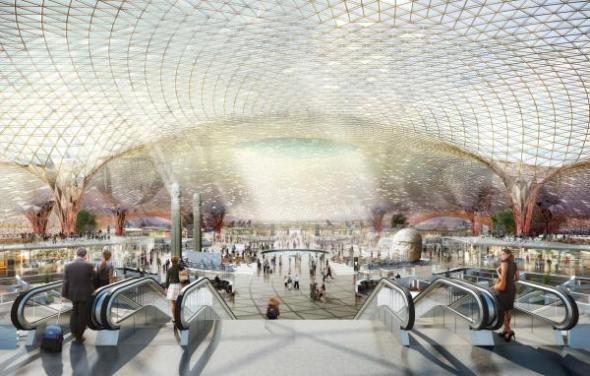 Se revelan detalles interiores del nuevo aeropuerto de la Ciudad de México