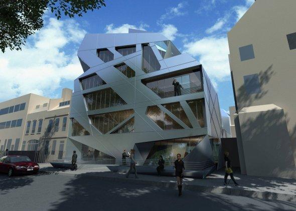 Edificio entrelazado de Zaha Hadid