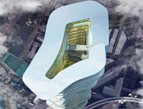 Rascacielos que albergan ciudades enteras