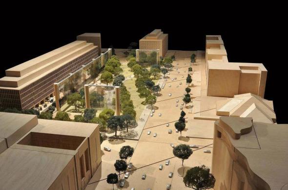 Frank Gehry revisa el diseño para el Memorial Eisenhower tras objeciones