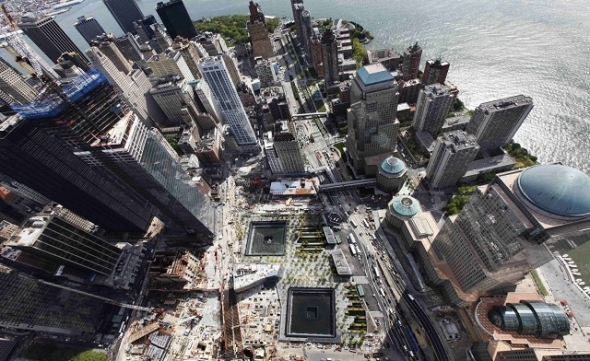 World Trade Center Memorial Plaza abre sus puertas por primera vez