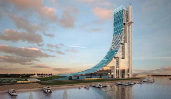 Torre Rampa. El Edifico más alto de latinoamérica