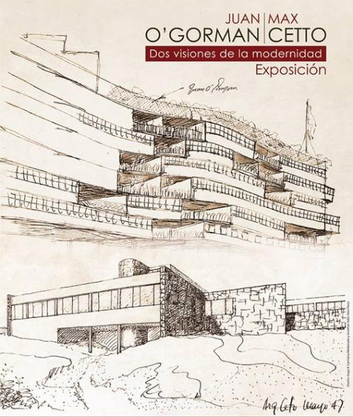 Muestran la visión de O Gorman y Cetto sobre la arquitectura moderna