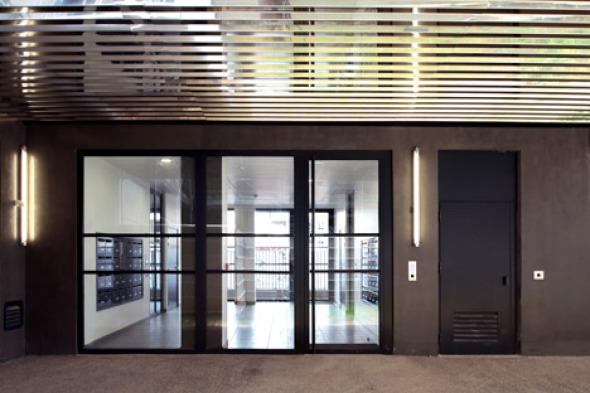 Balcones reflectantes para las residencias