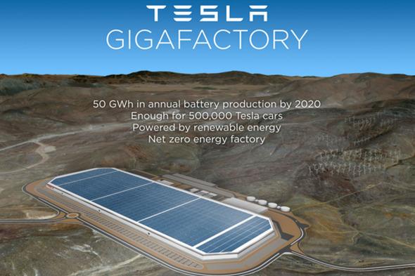 Gigafactory en Nevada funcionará con energía solar y eólica