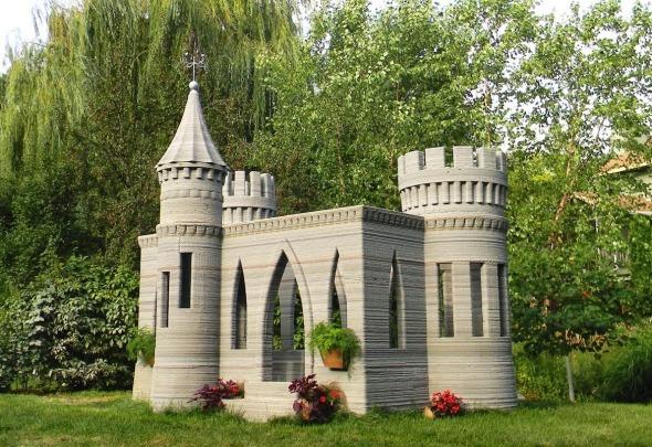 Castillo Real, Impreso en 3D