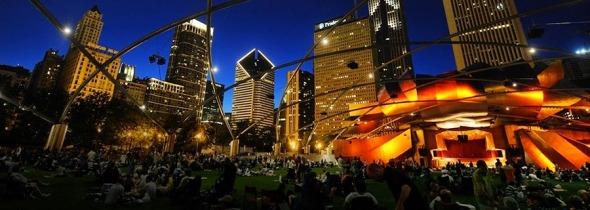 Frank Gehry fue galardonado en Grant Park Music Fest