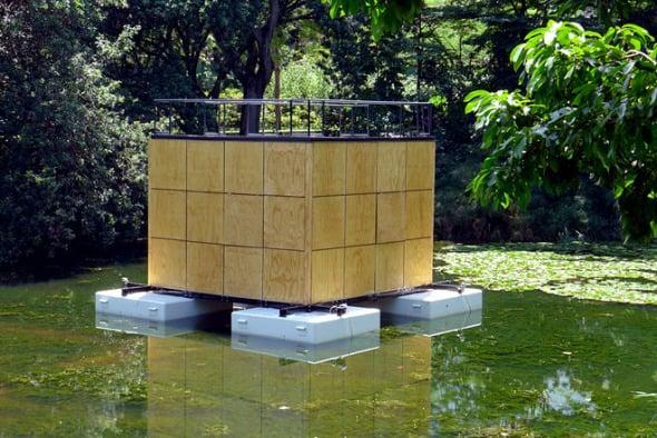Casa flotante individual