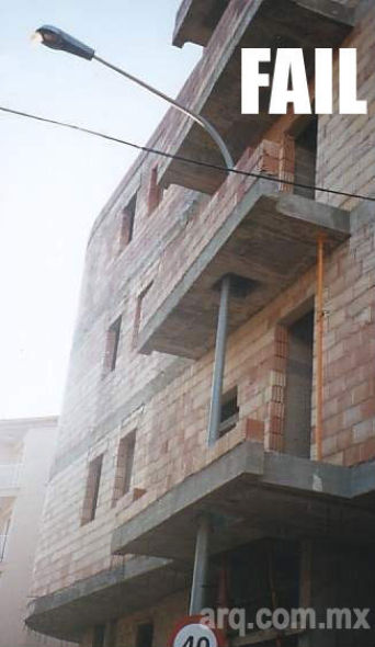 Humor en la Arquitectura, Un buen arquitecto se adapta  a la Zona del proyecto