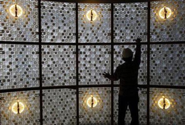 Edificio de 1,5 millones de botellas de plástico recicladas