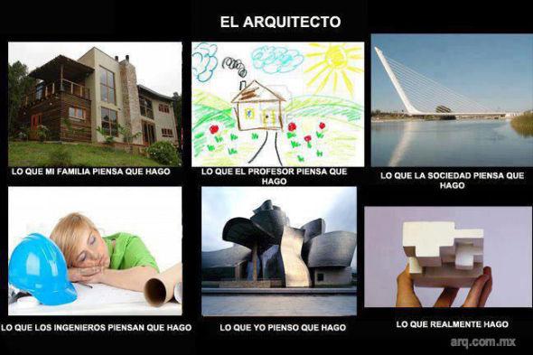 Humor en la Arquitectura, Lo que Creo que soy.