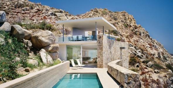 Una casa al final de la tierra