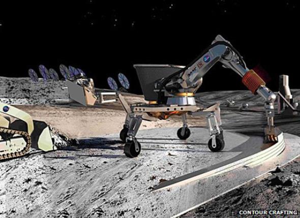 Nueva tecnología de la NASA te permite diseñar e imprimir tu nuevo hogar marciano en sólo 24 horas