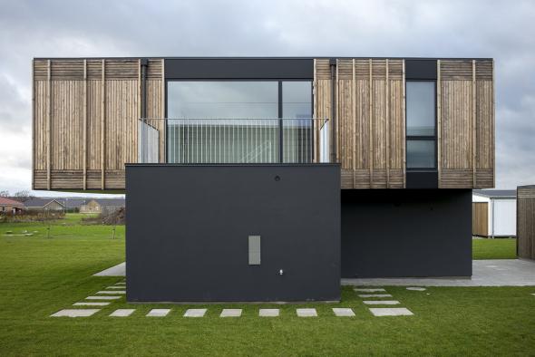 Casa que reduce drásticamente su huella de carbono