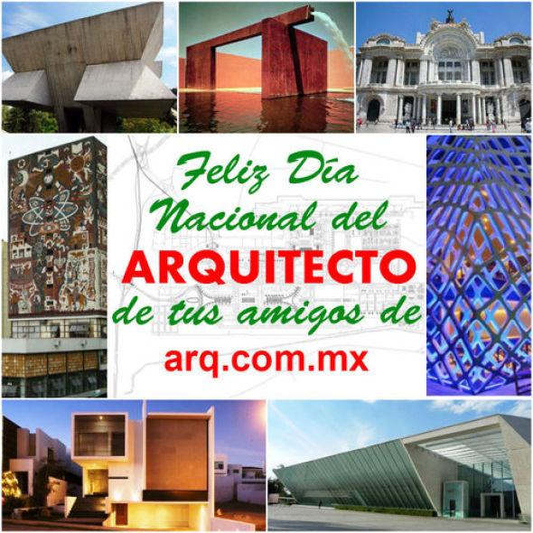 Feliz Día del Arquitecto en México