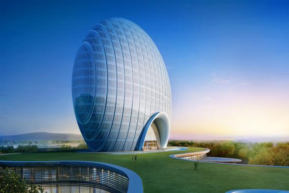 Es éste el hotel más increíble en inaugurarse este año
