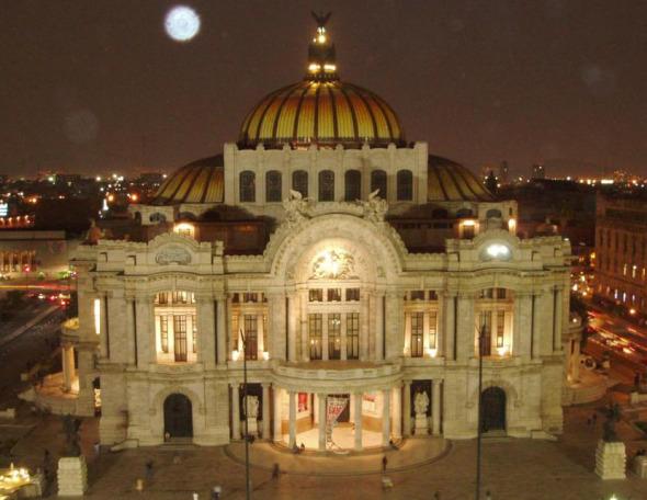 Aportes mayas en Palacio de Bellas Artes