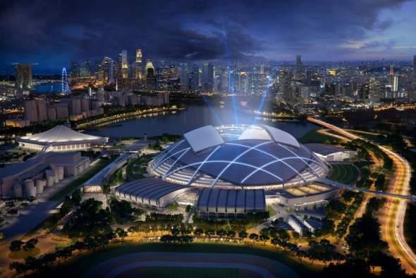 Complejo deportivo en Singapur, el más completo en su clase