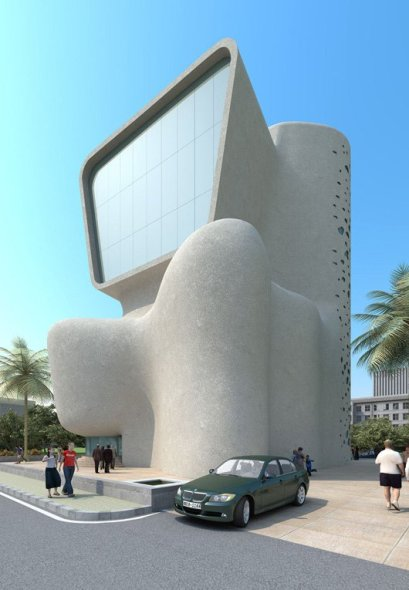 Sociedad de Artes de Mumbai. Nominado a Edificio del Año