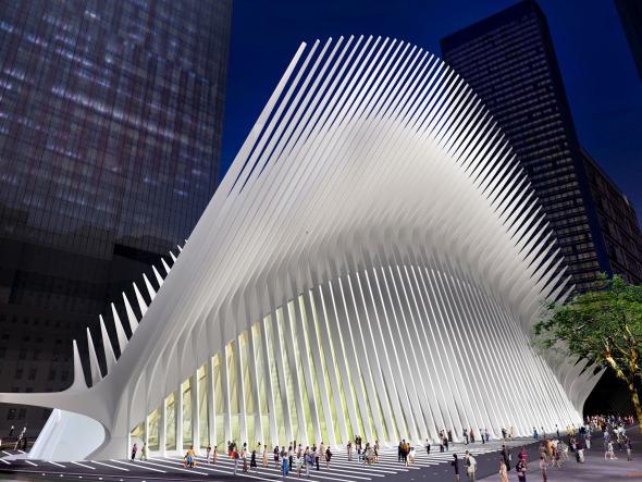 Calatrasaurio. Estación en Nueva York de Calatrava provoca burlas