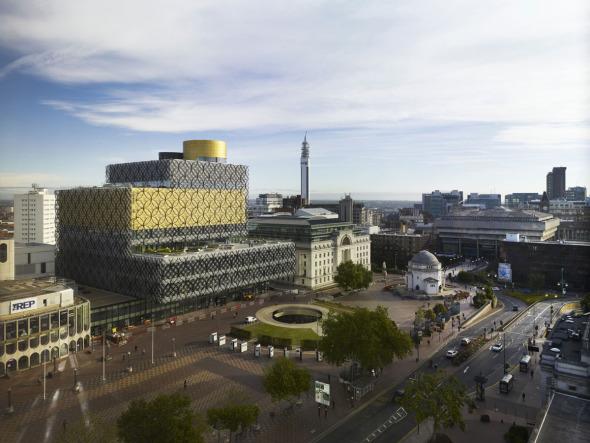 Biblioteca de Birmingham de Mecanoo la ganadora del Premio Stirling del público