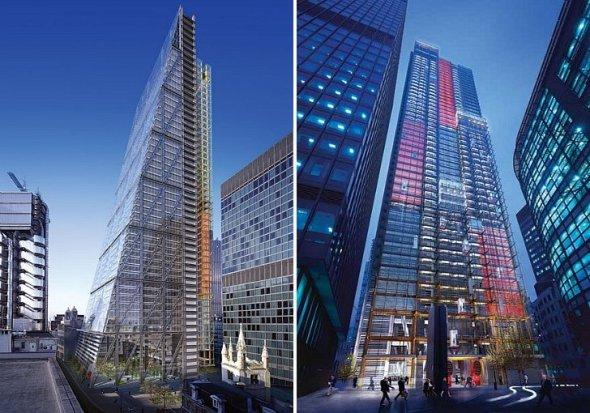 Richard Rogers planea trasladar su firma a un rascacielos