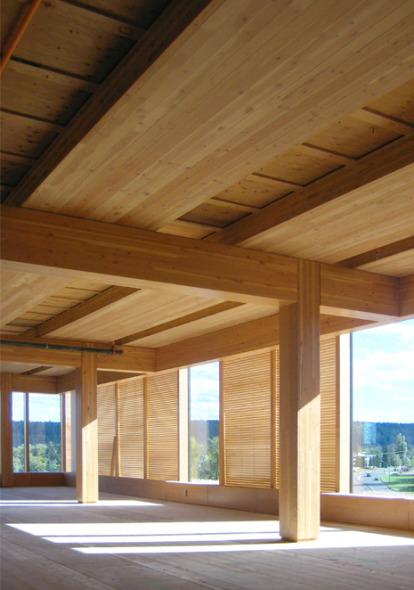 ¿Debemos construir con madera?