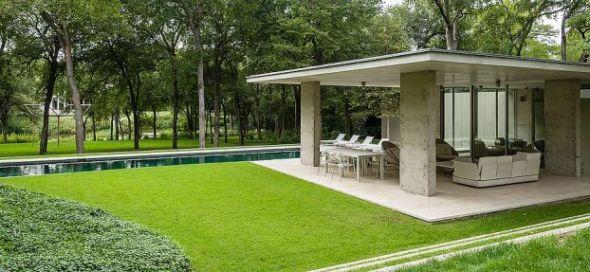 Galardonada mansión de Dallas