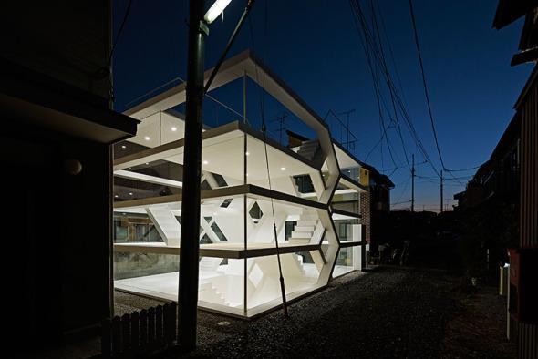 ¿Te animarías a vivir en un casa transparente? La Casa S
