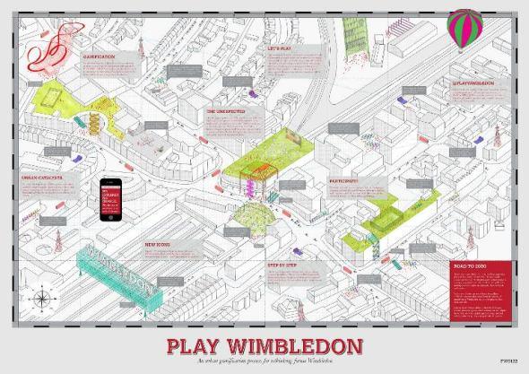 Arquitecto español competición de Wimbledon