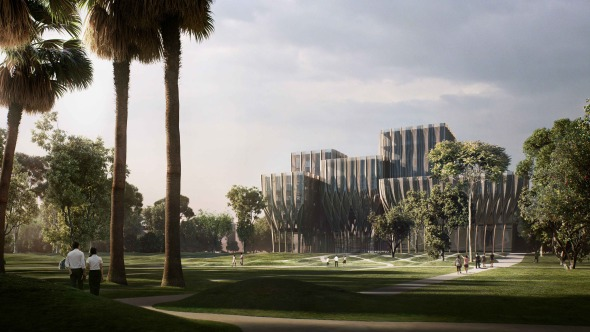 Zaha Hadid revela planes para instituto en Camboya