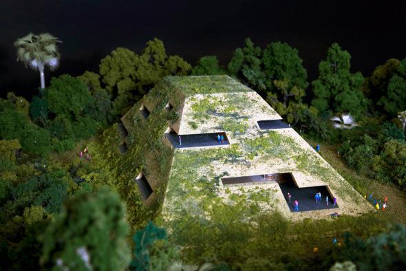 Mayas inspiran edificios contemporáneos