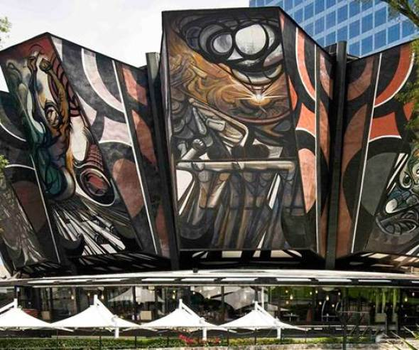 Polyforum Siqueiros es Declarado Patrimonio Cultural Urbano de la Ciudad de México