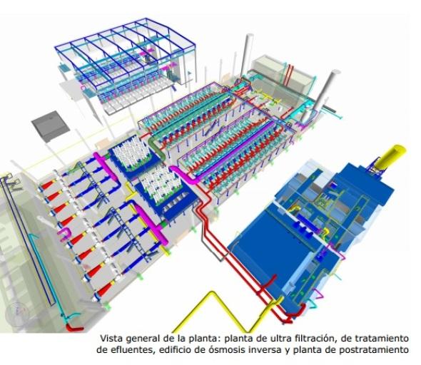 Diseño de la mayor planta desaladora del mundo en tiempo record con AutoCAD Plant 3D