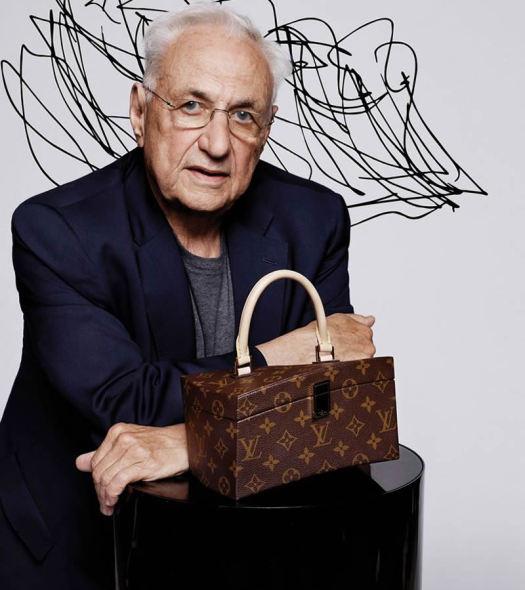 Frank Gehry diseña bolsa para Louis Vuitton