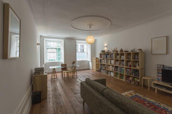 Remodelación de casa estudio del siglo XVIII