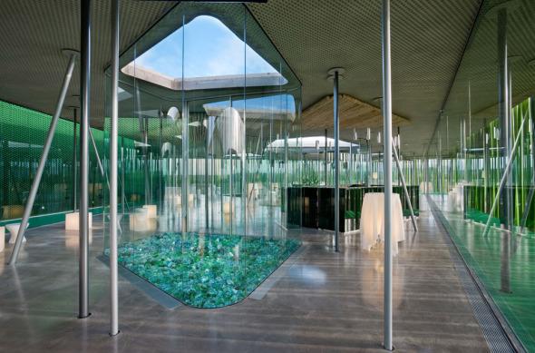 Sorprendentes arquitecturas construidas con materiales no convencionales