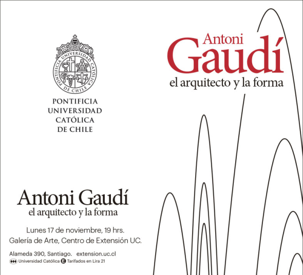 El arquitecto y la forma. Antoni Gaudí