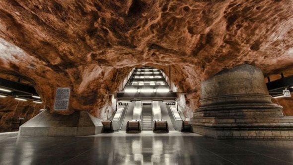 Las 10 estaciones de metro más espectaculares del mundo